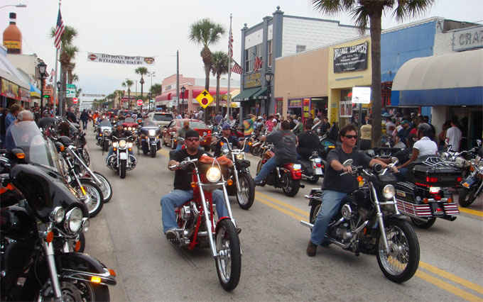 Daytona Beach Bike Week 2021