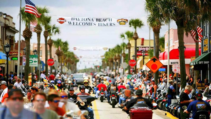 Daytona Beach Bike Week 2018