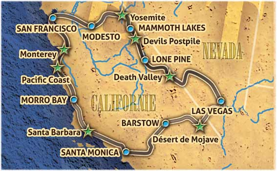 Voyage A Moto Etats Unis California Bike Tour