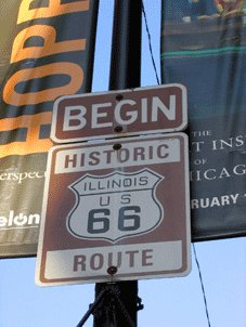 Route 66 Tours - Chicago, IL > « Blues Brothers » > Bloomington, IL