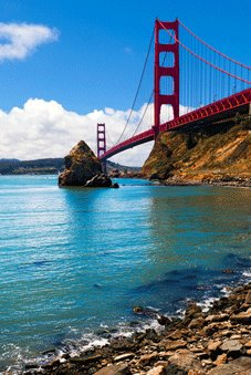 American Dream Tours - Modesto, CA > Golden Gate Bridge > San Francisco, CA