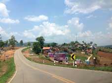 Thaïlande Bike Tour - Uttaradit > Parc National Phu Hin Rong Kla > Phetchabun
