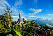 Thaïlande Bike Tour - Chiang Mai > Parc National Doi Inthanon > Chiang Mai