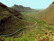 Route 62 Tours - Beaufort West > Parc National du Karoo > Graaff Reinet