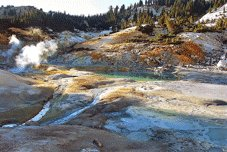 Pacific Coast Tours - Red Bluff, CA > Lassen Volcanic > Klamath Falls, OR
