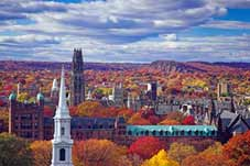 New England Tours - Arlington, VT > Mohawk Trail > New Haven, CT