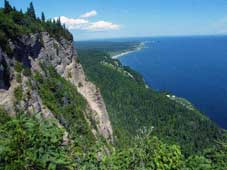Grandeur Nature Bike Tour - Percé, QC > Parc National Forillon > Ste-Anne-des Monts