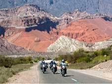 Route 40 Bike Tour - Salta > Quebrada las Flechas > Cafayate