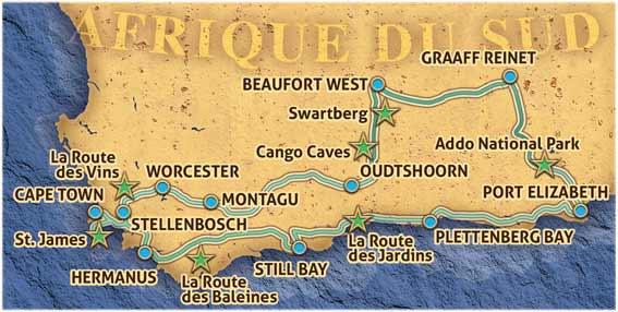 Voyage En Auto Afrique Du Sud Route 62 Car Tour