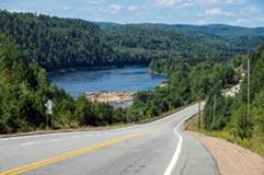 Grandeur Nature Bike Tour - Trois Rivières, QC > Route des Rivières > Alma, QC