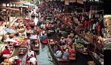 Thaïlande Bike Tour - Bangkok > Marché Flottant > Parc National Erawan > Kanchanaburi