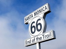Route 66 Bike Tour - Barstow, CA > Los Angeles, CA
