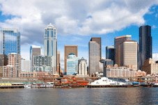 Pacific Coast Tours - Portland > Mount Rainier Nat'l Park > Seattle, WA