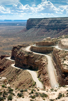 American Dream Bike Tour - Bluff, UT > Moki Dugway > Arches Nat'l Park > Moab, UT