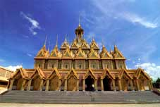 Thaïlande Bike Tour - Chiang Mai > Wat Doi Suthep > Chiang Rai